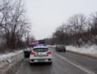 ТИР спря на метър от жп линията край пътя Русе-Бяла