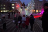 Коледната елха във Видин грейна празнично