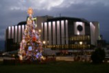Коледна елха в София