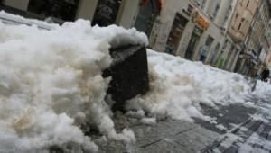 Как изглежда ул. Граф Игнатиев след големия сняг