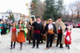 Красотата на кукерския фестивал в Банско