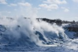 Как замръзва Ниагарският водопад