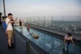 Поглед от най-високата сграда в Тайланд MahaNakhon