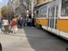 Трамвай блъсна жена в София