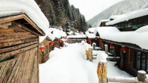 Зима в китайско село