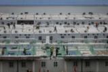 Вижте как китайците построиха болница за броени дни