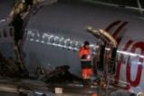 Кадри от самолетната катастрофа в Истанбул