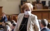Депутати и министри с маски и ръкавици