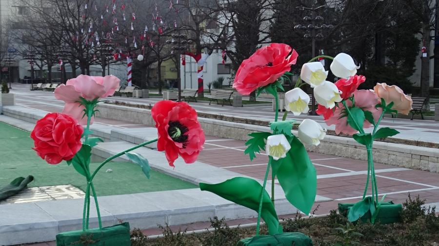 Благоевград посрещна пролетта