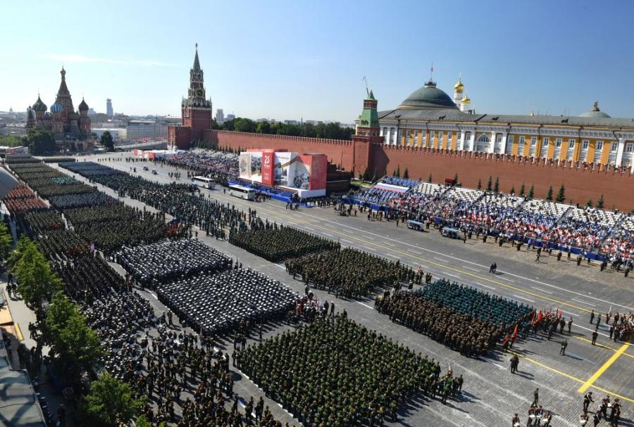 Парад на Победата на Червения площад
