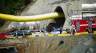 Срутване в тунел