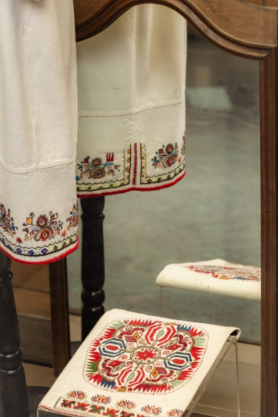 Автентични шевици в изложба