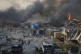 Страховитият взрив в на пристанището в Бейрут