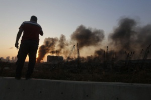 Страховият взрив в на пристанището в Бейрут