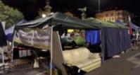 МВР премахна палатковите лагери в София