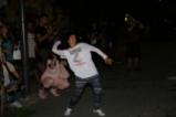 Протестиращи хвърляха яйца и домати по сградата на МВР
