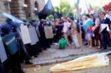 Велико народно въстание, протест, полиция, слама