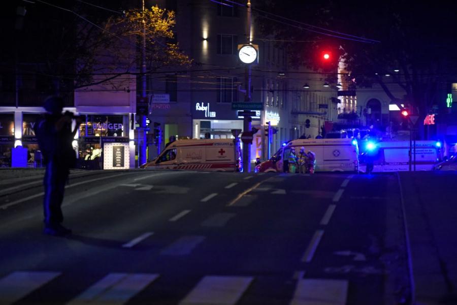 Терористичен акт във Виена