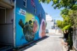 Тръмп вдъхнови графити артист