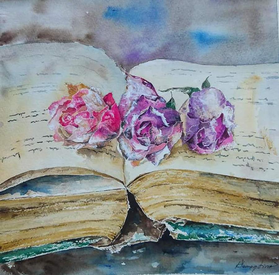 Малки картини от Клементина Манчева