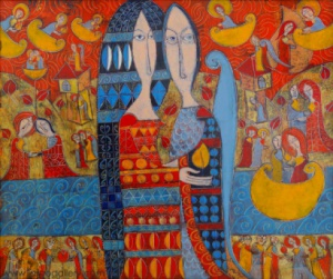 """""""Обичам те, любими"""" - сборна изложба в памет на Йордан Петков"""