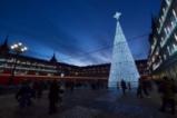 Коледните светлини на Мадрид