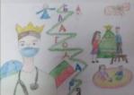 Рисунки-послания ще зарадват медиците на първа линия