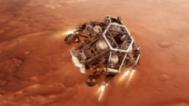 """Марсоходът """"Пърсивиърънс"""" кацна на Червената планета"""