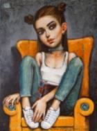 """""""Спасение има"""" самостоятелна изложба – живопис на Николай Ангелов - Гари"""