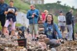 Състезание по редене на камъни в Шотландия
