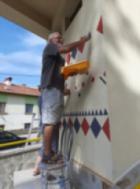 Художникът Васко Славков подари прекрасна изненада на Дома за стари хора в Самоков