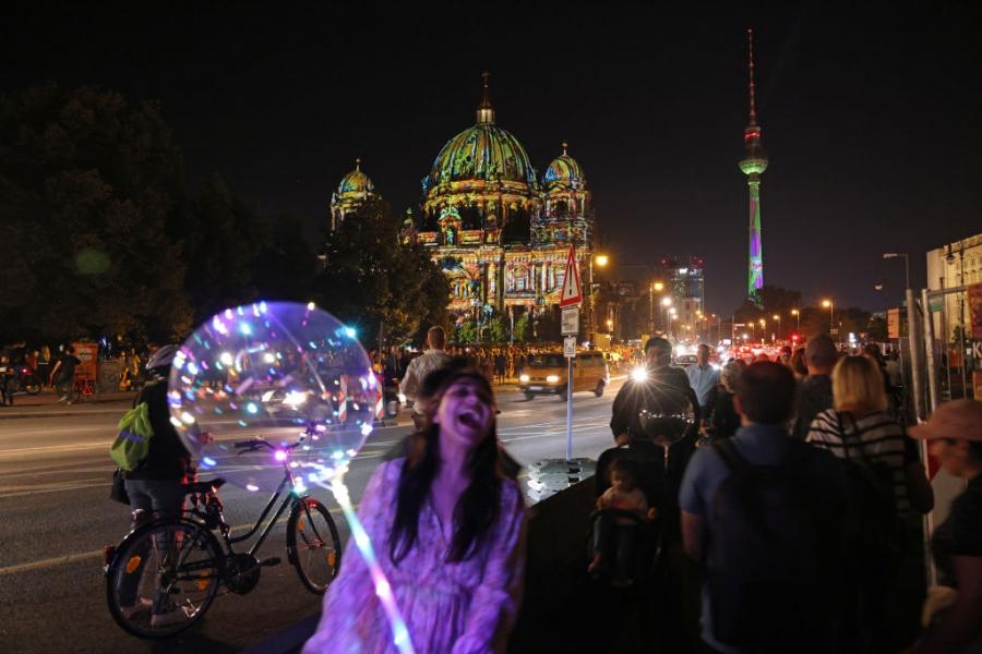 Фестивал на светлините в Берлин