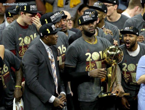 photo of История в НБА - Кавалиърс взеха титлата след невиждан досега обрат
