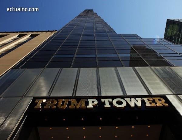 """photo of """"Тръмп Тауър"""" - """"най-малко желаната"""" луксозна сграда в Ню Йорк"""
