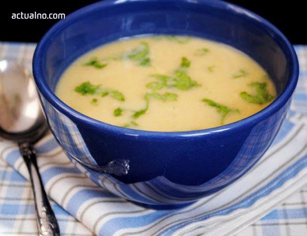 photo of Крем супа със спанак и картофи
