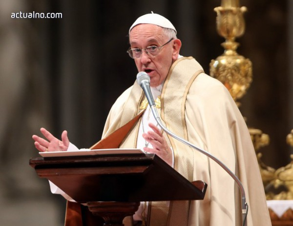 photo of Папа Франциск се помоли за мир в Сирия