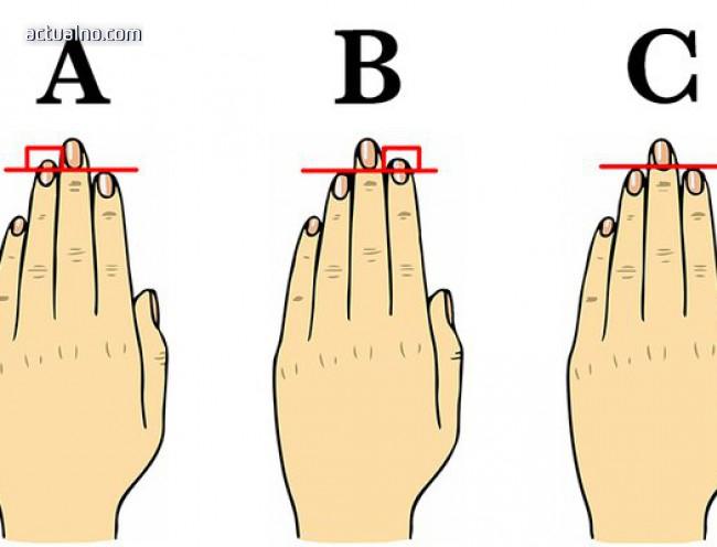 photo of Пръстите на ръцете издават характера ни