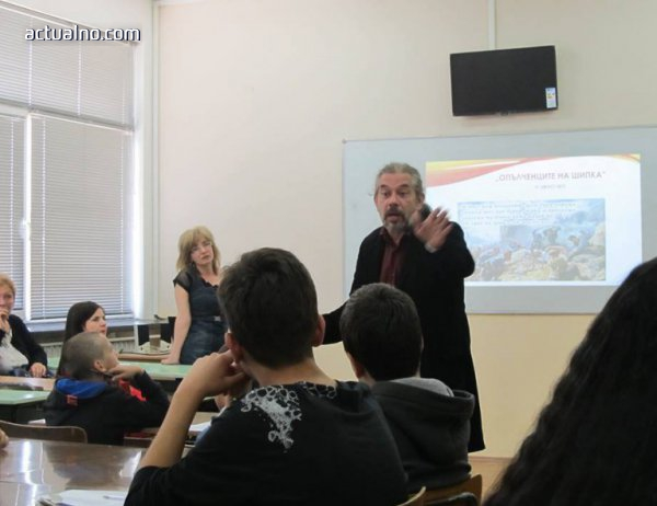 photo of Янко Лозанов вдъхнови ученици за матурите