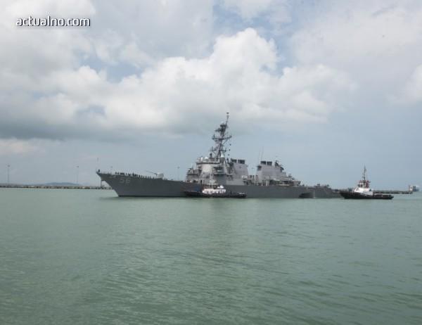 photo of Нов кораб на САЩ навлезе в Черно море заради Украйна