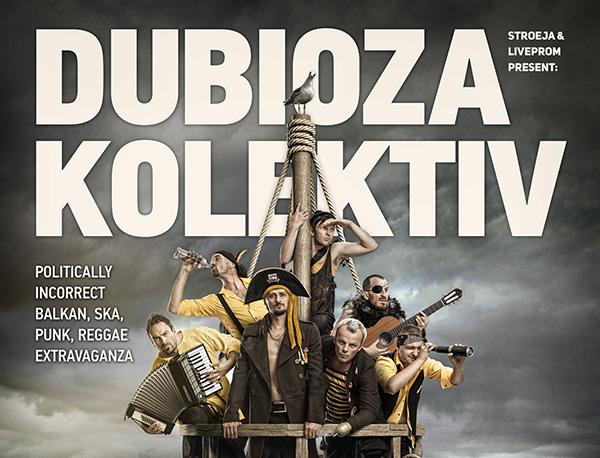 photo of Грабни двойна покана за шоуто на Dubioza Kolektiv!