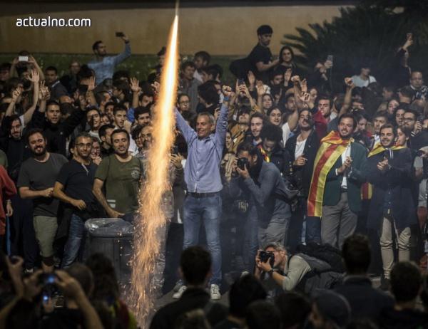 photo of Първи резултати от Каталуния: 90% са поискали независимост