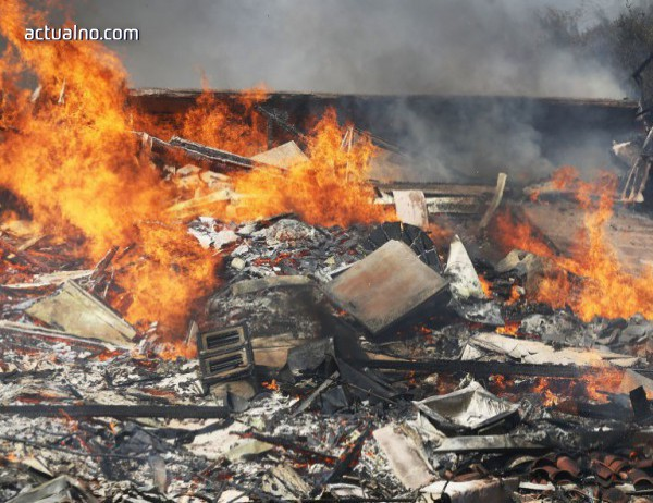 photo of Пожар унищожи гласовете от Източен Багдад