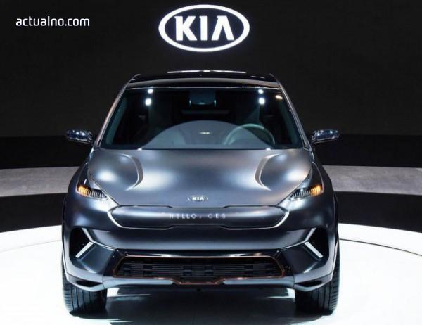 photo of Kia представи изцяло електрически кросоувър