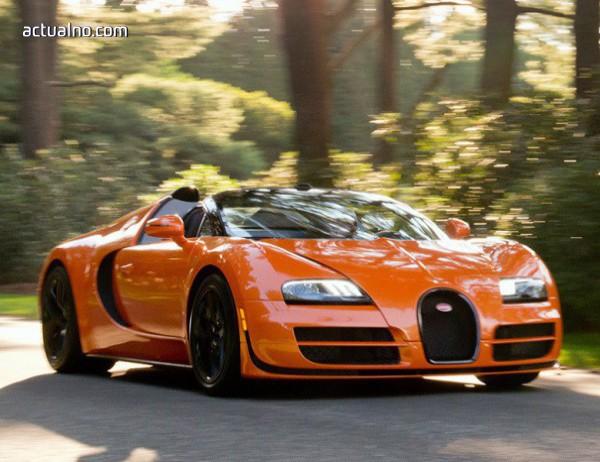 photo of Шварценегер се раздели със своето Bugatti Veyron