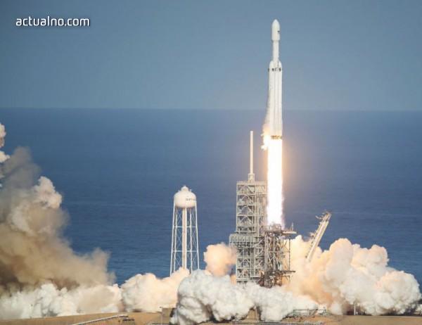 photo of Най-мощната ракета за последните 30 години вече е в Космоса (ВИДЕО)