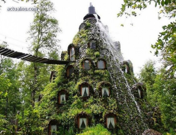 """photo of """"Вълшебната планинска къща"""" - един магически хотел в Чили"""