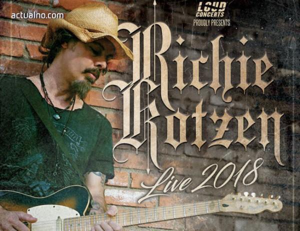 photo of Последни детайли около шоуто на Richie Kotzen