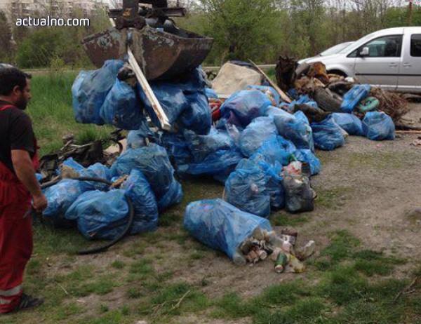 """photo of В район """"Младост"""" започна пролетното почистване"""