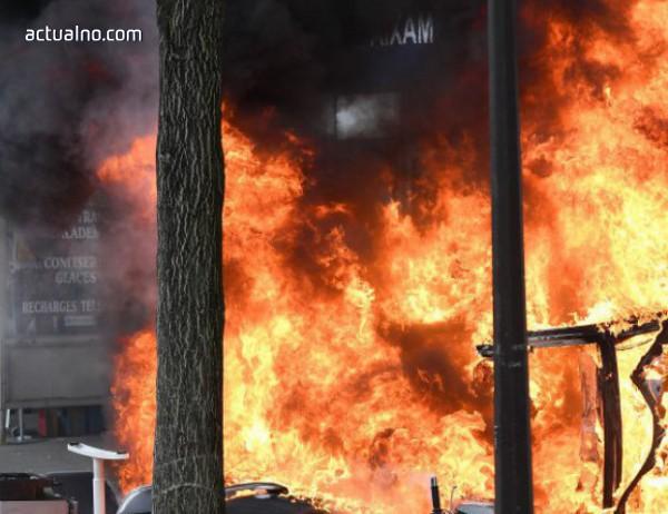 photo of Жилищна сграда пламна в Тулуза, има ранени