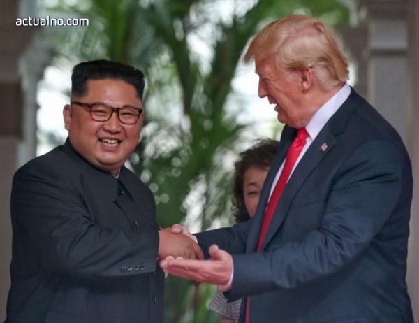 photo of Нито дума за срещата Ким-Тръмп по националната севернокорейска телевизия